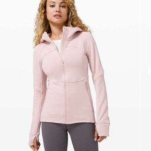 Lululemon Fleece Flurry Jacket - Mink Berry